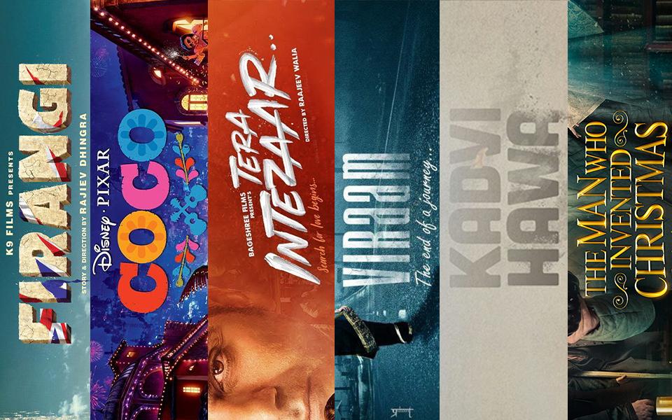 latest hindi and English movies November week 3