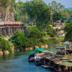 Death railway in Burma