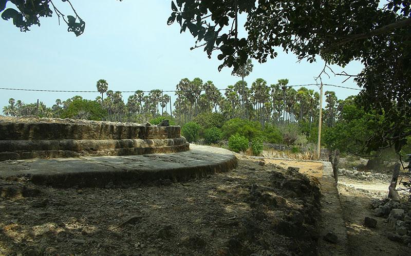 The delft island of Srilanka