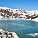 places in asia that can get the snow experience